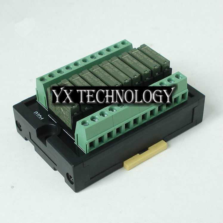 Фотография 10-way normally open relay modules RT-P10NS Built relay 24V  PA1A
