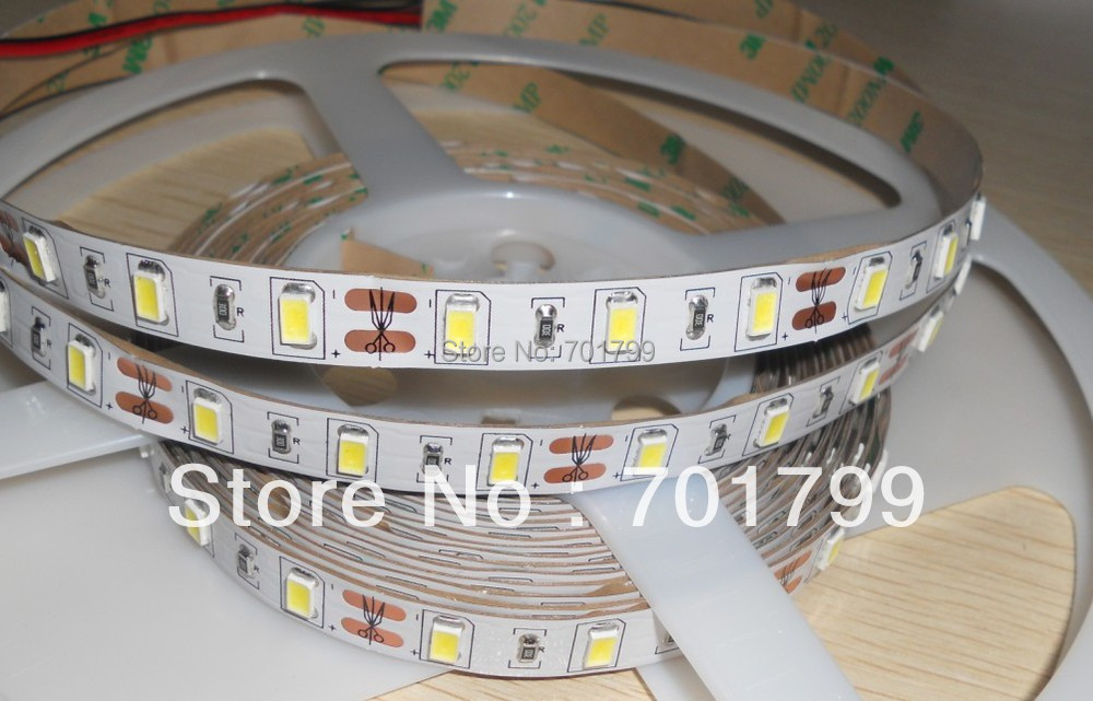 super bright 5630 SMD DC12V 5m(one roll)60LEDs/m led strip,non-waterproof,IP33(China (Mainland))