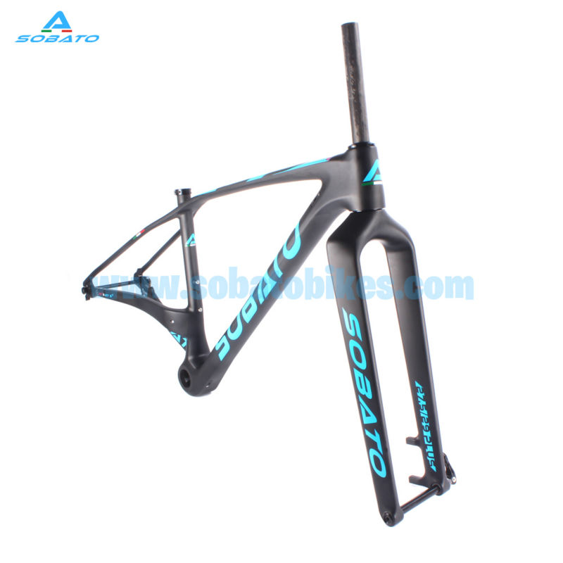 2017 High Carbon 27.5er/29er 29ER PLUS Toray Full MTB Mountain Bike Frame Full Carbon Fiber Chinese Carbon MTB Frame