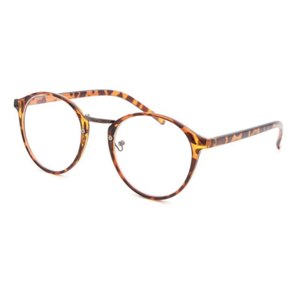 vintage classic clear lens plastic eyewear