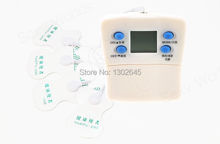 Electric Shock Muscle Relaxation Sex Toy , Therapy Slimming Massager Patch , Electro Shock Sex Toys For Couples(China (Mainland))