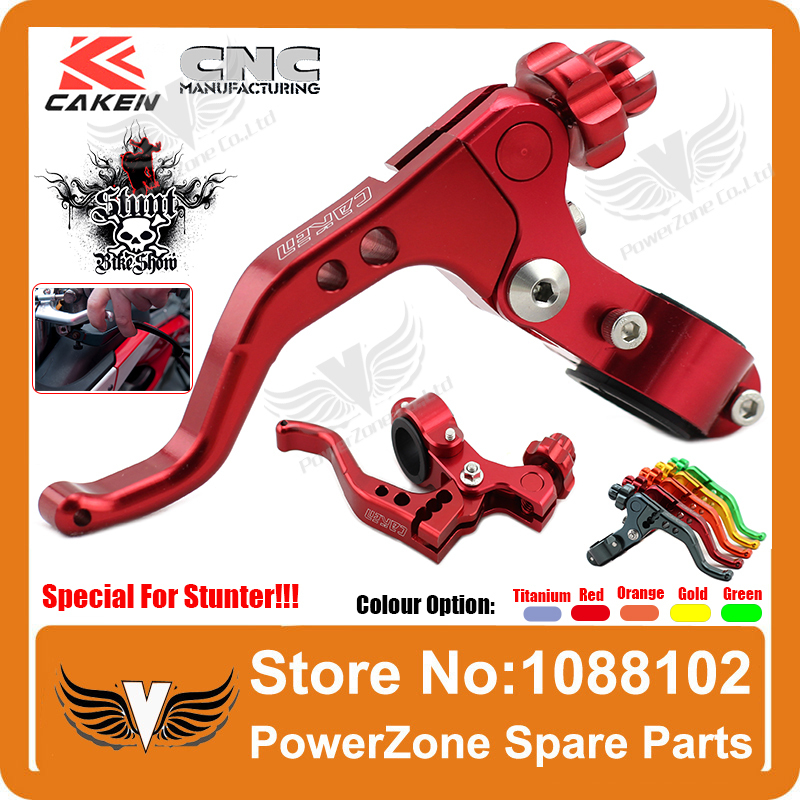 CNC Alloy Stunt Short Stunts Clutch Lever Only Special For Stunter CRF KXF KTM YZF RMZ SuperMoto Modify Free Shipping(China (Mainland))