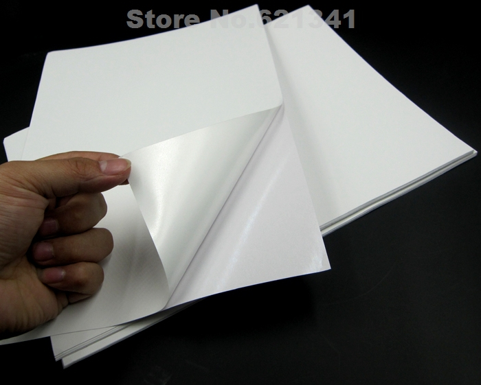 a4 pp synthetic paper adhesive sticker paper printing