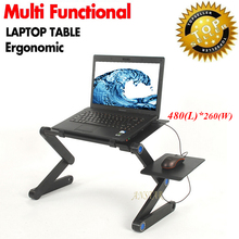 Portable Laptop Table  Notebook Stand Laptop Desk Mesa Para Notebook Laptop Desk Bed With Mouse Pad  laptop table for bed