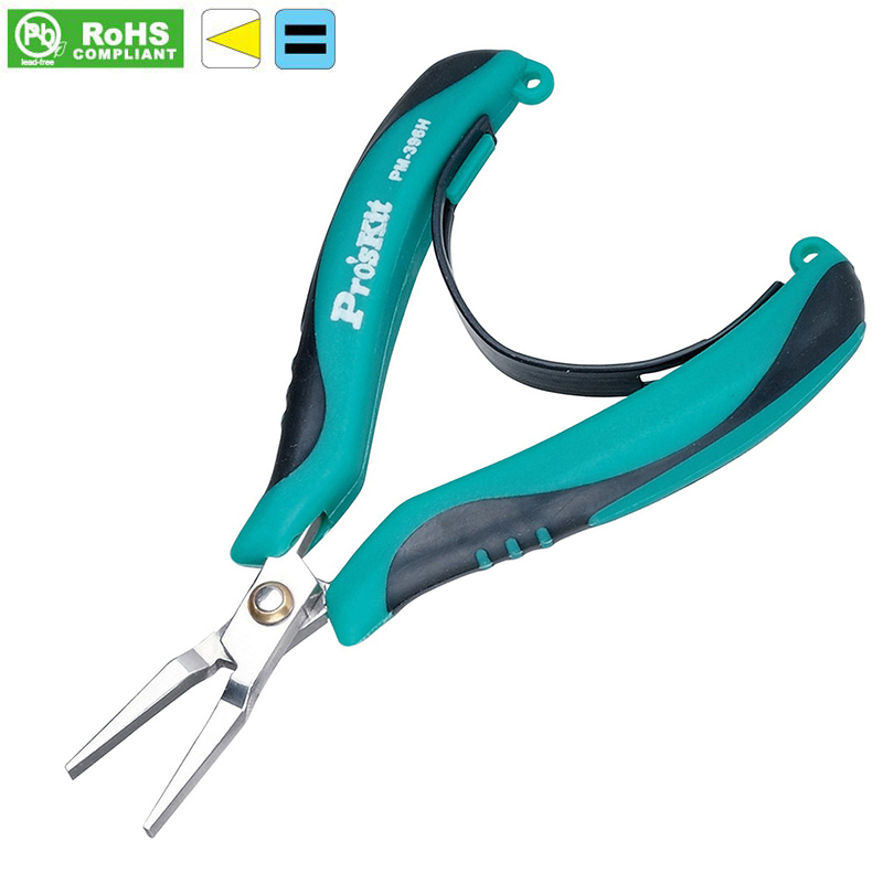 PM-396H flat nose plier AISI 420 stainless steel No teeth Flat - nose pliers Flat mouth pliers(China (Mainland))