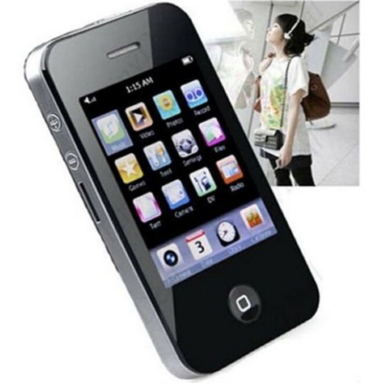 MP3 MP4 MP5 factory direct supply of 2.8 inch camera new one four generation touch screen machine(China (Mainland))
