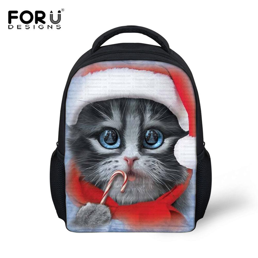Mini Cute Pet Cat Bag Children School Bags Kids Kindergarten Baby Schoolbag Boys Girl Small Backpack Animal Mochila Infantil  -  KIDS FOR YOU,CO.,LTD store