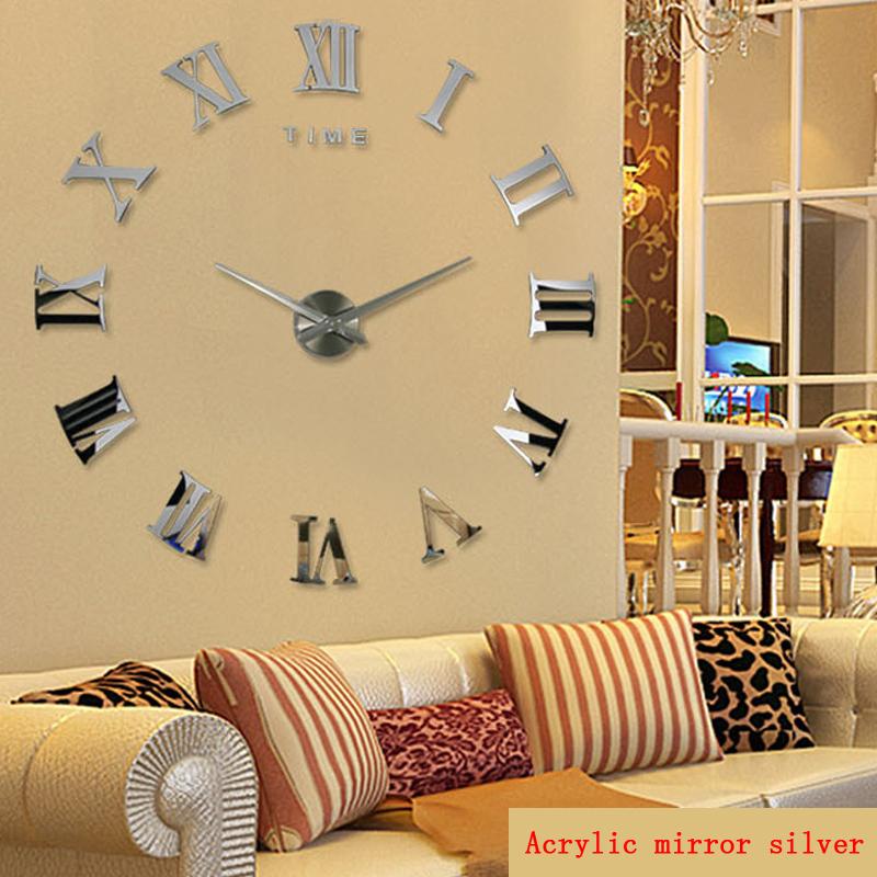 Online kopen wholesale moderne muur horloges uit china moderne muur horloges groothandel - Grote woonkamer design spiegel ...