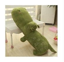 cute plush green hippo toy new cute cartoon hippo doll gift toy about 80cm
