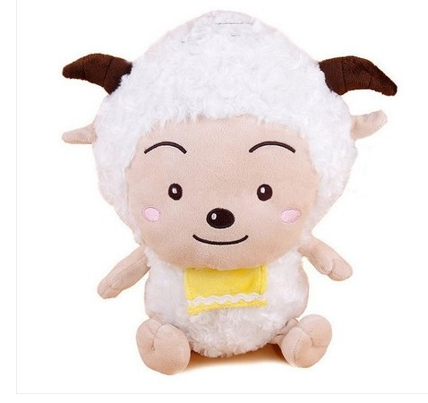 stuffed animal sheep plush toy about 50cm lazy goat soft doll t5897(China (Mainland))