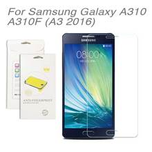 3pcs/lot For Samsung galaxy A310 (A3 2016),High Clear LCD Screen Protective Film Screen Guard Screen Protector Film SM-A310F