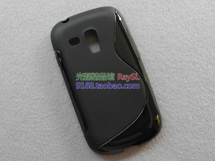 Здесь можно купить  High Quality Soft TPU Gel S line Skin Cover Case For Samsung Galaxy S3 Mini i8190 Free Shipping UPS DHL HKPAM CPAM  Телефоны и Телекоммуникации