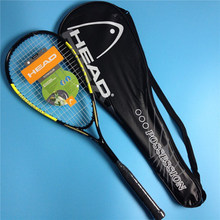 Quality Composite Head Squash Racket With Free Bag Carbon Squash Racquet Orange Blue Squash Racquet Head Squash Racquet Training(China)