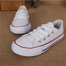 Marque De Mode Haut Bas Enfants Sneakers Garçons Filles Chaussures Enfant Toile Chaussures Sport Enfants Casual Chaussures Tous Les Taille 23-34 tx0260(China (Mainland))