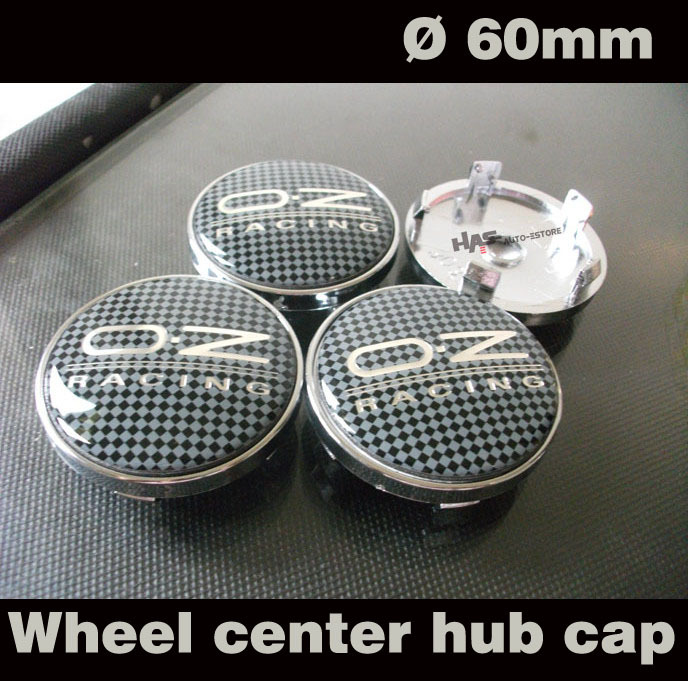 4 PCS Wheel Center Hub Caps Emblem Badge For car styling oz style with connect deck 60mm Pliad pattern(China (Mainland))