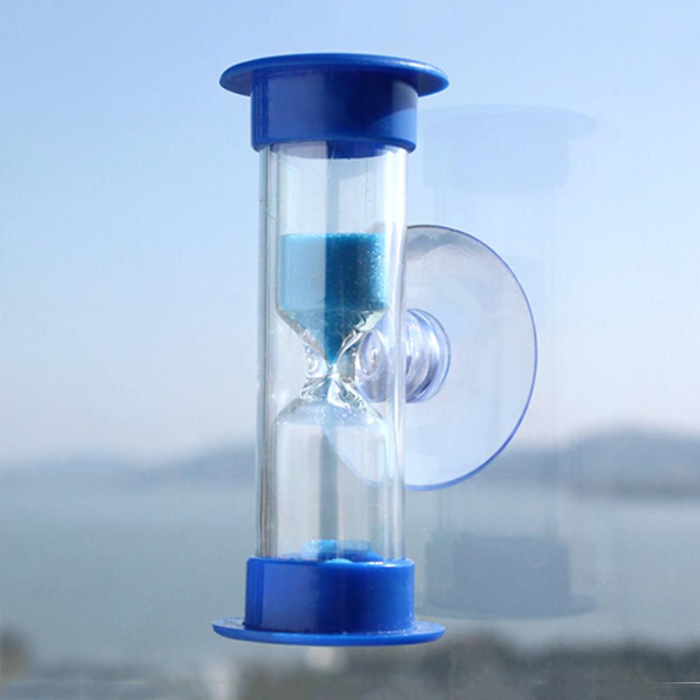 1PCS New Mini 3 Minutes Sandglass Hourglass Sand Clock Timer Ampulheta For Tooth Brushing Shower Timer Education Kids Toys(China (Mainland))