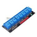 5PCS 8 Channel 24V Relay Module lamp Low level for Arduino SCM Household Appliance Control