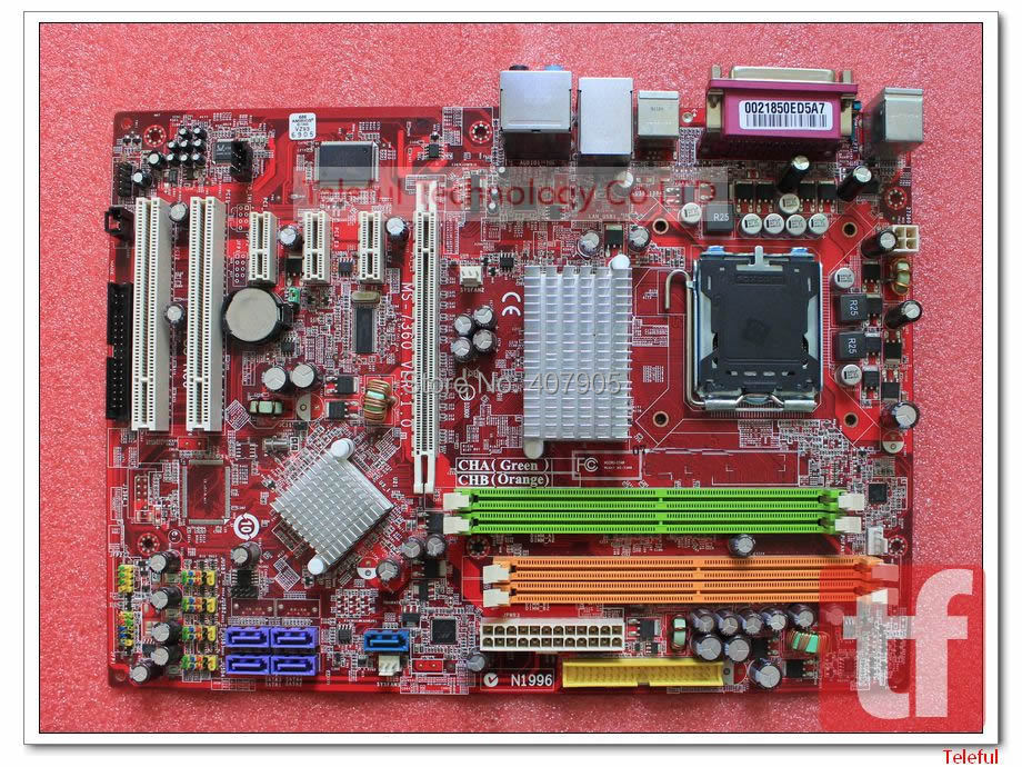 LGA 775 Motherboard for MSI P35 Neo MS-7360 VER 1.0 P35 + ICH9 chipset DDR2 PC 100%Tested &Working perfect(China (Mainland))