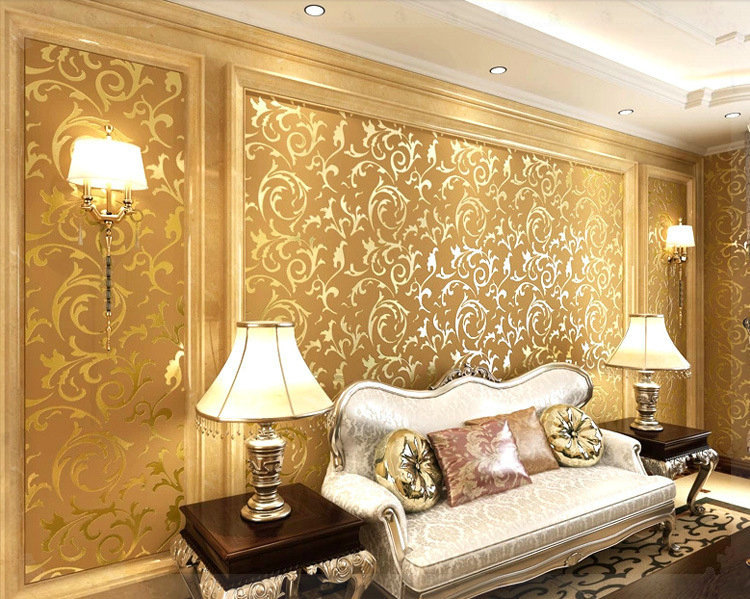 Modern wallpapers for livingroom murals designer wallpaper for Home wallpaper designs for living room