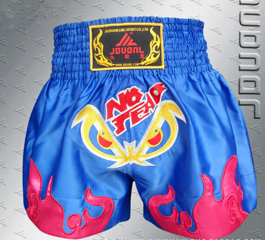 Free Shipping muay thai boxing mma fight shorts men jiu jitsu Sports thai black boxing shorts kickbox(China (Mainland))