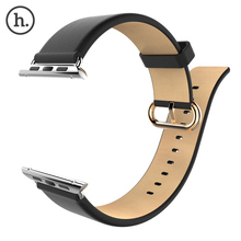 HOCO Watch Band For Apple Watch Strap Hoco Luxury Real Geniune Leather Wrist Band Strap For iWatch 38 mm/42mm Connector Adapter