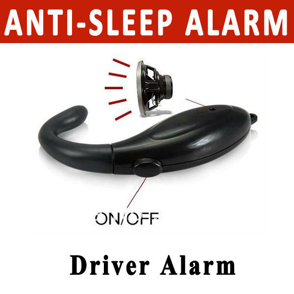 Sound Alert Anti Sleep Alarm Security Guards Alarm Nap Zapper for car drivers or students free shipping(China (Mainland))