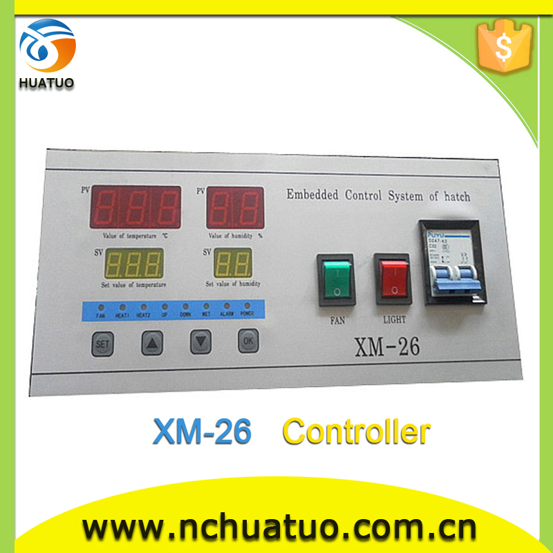 Temperature humidity controller for incubator XM-26 incubator(8448~9856eggs)(China (Mainland))