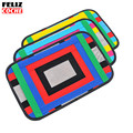 FELIZCOCHE Car Seat Back Hanging Holder for iPad Tablet for iphone Xiaomi Huawei Storage Organizer Bag
