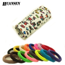 1-30pcs/lot Character kids Hair ties Adorable Ponytail Holder Hair Accessories for girls and women best hair band tie gum