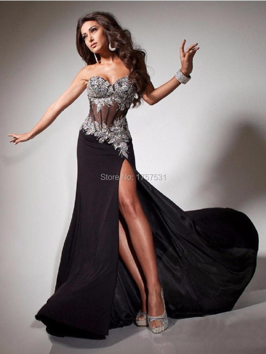 Фото вечерних эротичных платьев 26 фотография.