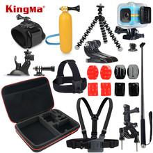 KingMa For Polaroid Cube Waterproof Case 12-in-1 Accessories Kit for Polaroid Cube and Cube+ Accesorios set(China (Mainland))