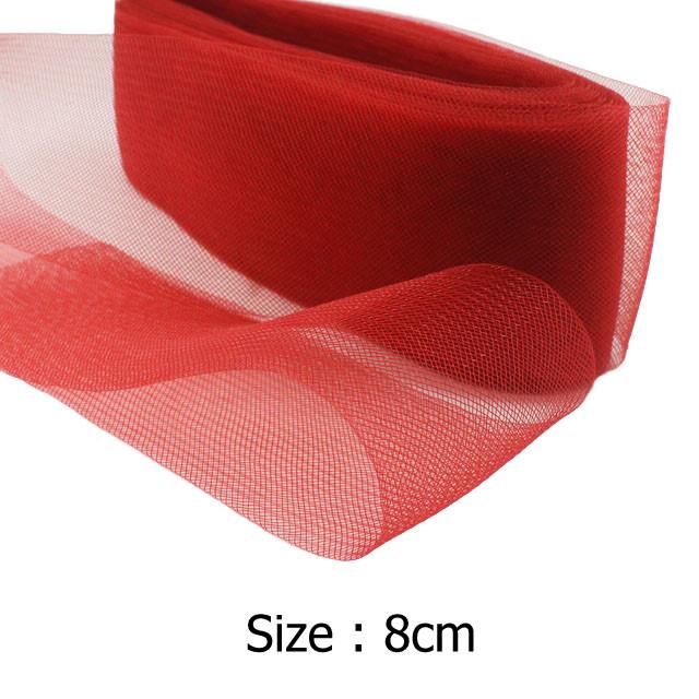 "[IuBuFiGo] 3.1"" 8cm Flat Plain Horsehair Crin Crinoline Braid Mesh For Women Chrinolin 100yard/lot #31Color Free Shipping(China (Mainland))"