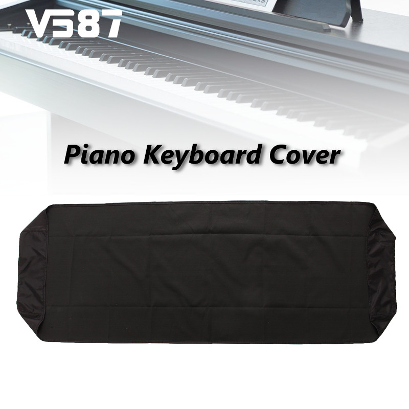 Black Piano Dustproof Lamination Cloth Piano Cleaning Cloth For 88-Key Electronic Piano Cover Keyboard Dust Sheet(China (Mainland))