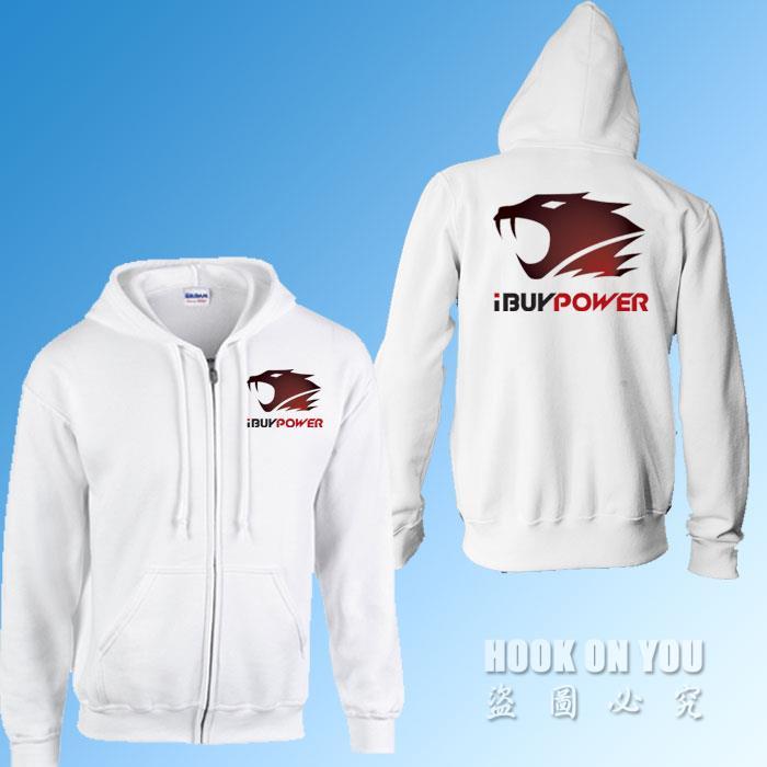 Game series ibuypower hoodies Winter autumn Hoodies Men Fashion Cotton Hoodie With Full Sleeve Tracksuits Men fleece Cardigans(China (Mainland))