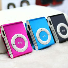 Classic  Mini Clip Metal USB MP3 Music Media Player Support  1-8GB Micro SD TF Card