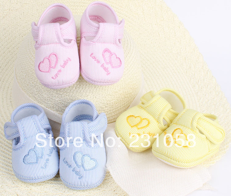 Newborn baby shoes first walkers prewalker infants boys girls kids toddler YJB02 - BABY&KIS SHOES store