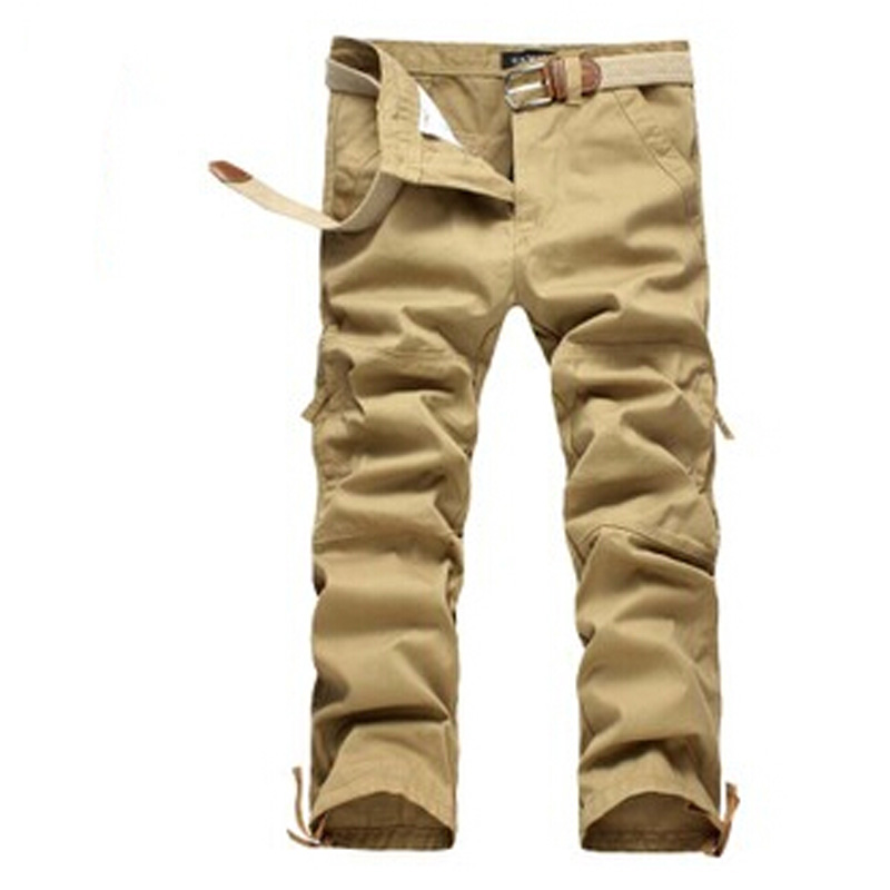 wholesale Mens Cargo Pants Warm Outdoor Sports Baggy Pants Cotton Trousers male loose pantalones casual free shipping DL1579Одежда и ак�е��уары<br><br><br>Aliexpress