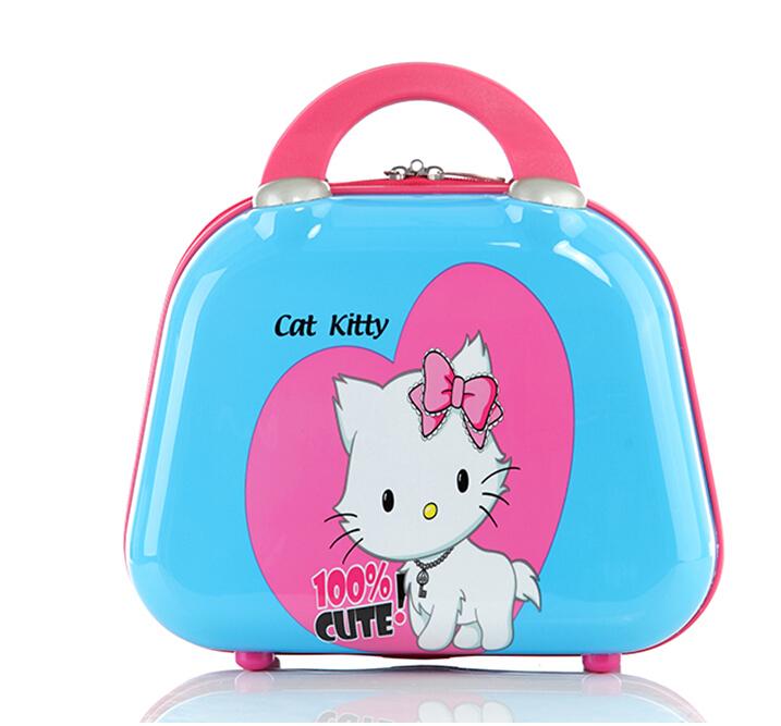 HELLO KITTY trolley luggage Travel 100% Cute hello kitty suitcase set(China (Mainland))