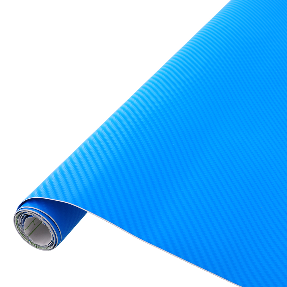 "24""x60"" 4D Gloss Deep Blue Carbon Fiber Pratical Car Auto Protect DIY Sticker Vinyl Air Release Film Decal(China (Mainland))"