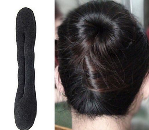 2015 HOT 22.5*5cm Girls and Women Hair Twister Styling Bun Making Tool for Sponge Roller Hairdisk and Hair clip(China (Mainland))