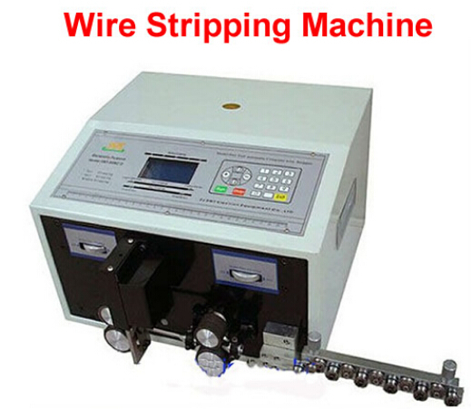FREE SHIP! SWT508-C Computer Automatic Wire Stripping Machine, Wire Cutting Machine, Cutting wire machine withLCD Display(China (Mainland))
