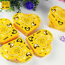 David 10 Pieces/Lot Heart Shape Candy Gift Box Smooth Condoms Natural Latex Contraception Exotic Adult Sex Condom Free Shipping(China (Mainland))