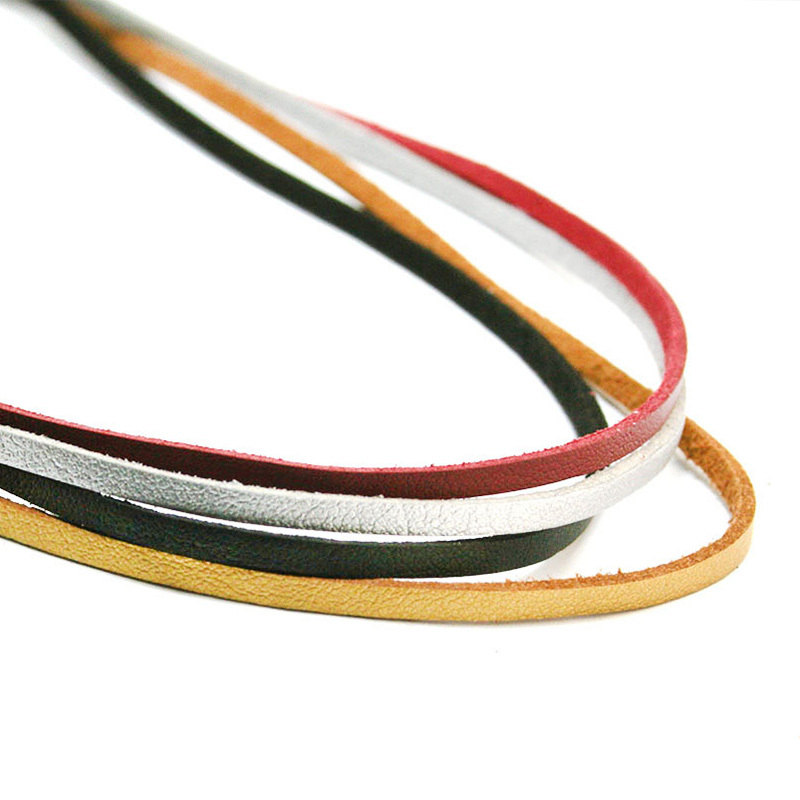 New Hot colors U-pick 100CM 3mm Flat Faux Suede Korean Velvet Leather Cord string Rope Thread Lace Jewelry Findings FXU004-01(China (Mainland))