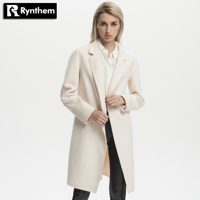 White Wool Coat Women