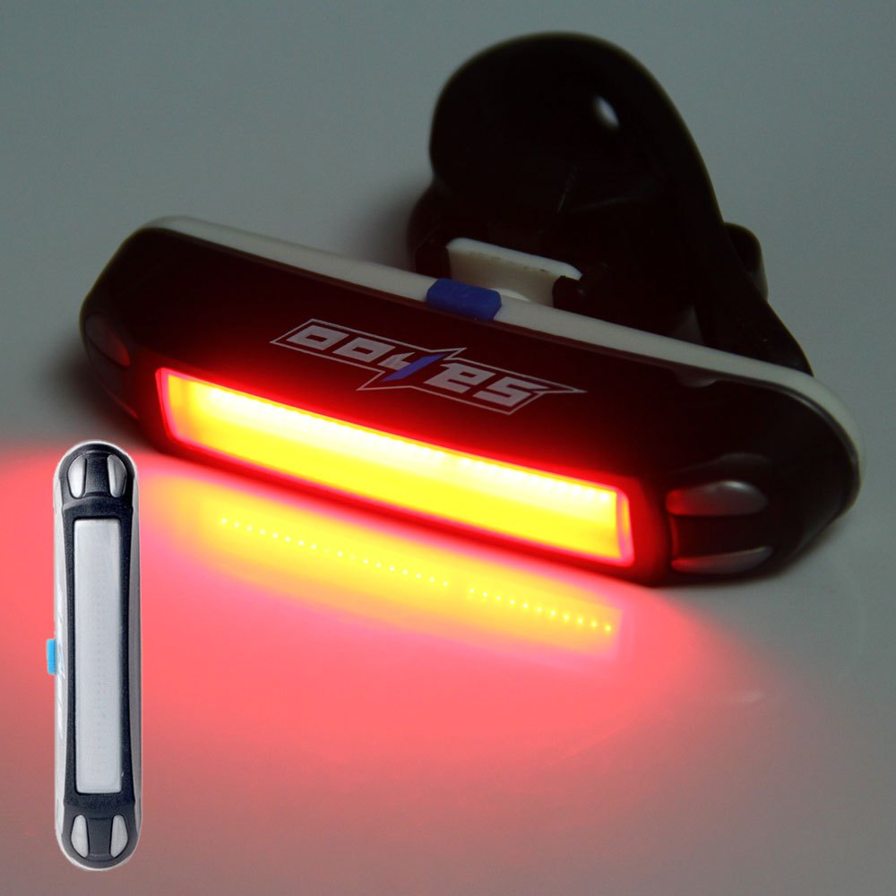 Best Promotion Portable Bike Lamp USB Rechargeable Waterproof 30 LED Cycling Taillight Bicycle Tail Rear Safety Warning Light(China (Mainland))