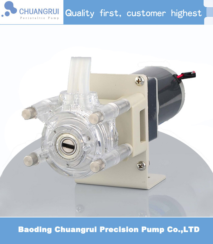 Free Shipping wholesale/retail PC material peristaltic pump(China (Mainland))