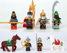 New Enlighten 1501 Minifigures One of the four great classics of China Romance of the Three Kingdoms Building Blocks Toys Z302(China (Mainland))