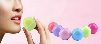 6 цвет новинка круглый бал природные органические украсьте бальзам для губ, гигиеническая помада, уход за губами