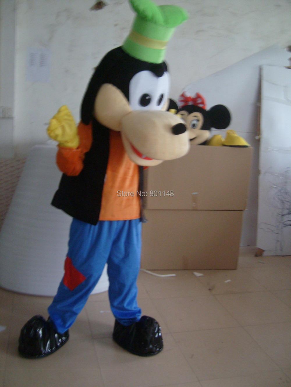 Goofy Costume Adults Goofy Dog Mascot Head Costume