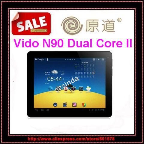 Vido N90 Dual Core II Android 4.0 9.7inch 1024x768 1GB RAM 16GB Dual Camera Bluetooth HDMI Tablet pc /Jessie(Hong Kong)
